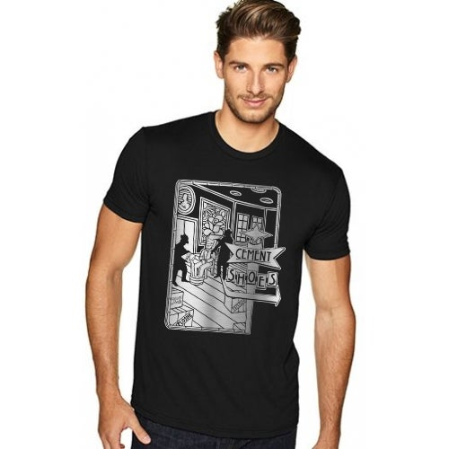 Image of Cement Shoes Gangster Mens T-Shirt