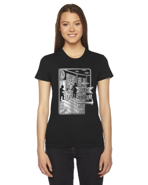 Image of Cement Shoes Gangster Womens T-Shirt