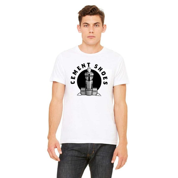 Image of Cement Shoes Circle Logo Mens T-Shirt