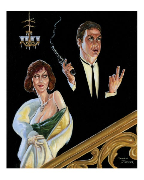 "Image of ""One Plus One Plus Two Plus One"" Print (a Tim Curry ""Clue"" tribute)"