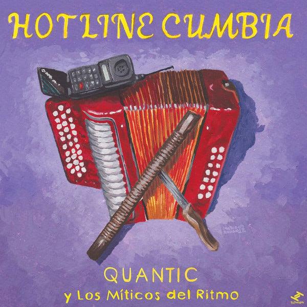 """Quantic y Los Míticos Del Ritmo - Hotline Cumbia (7"""")"""