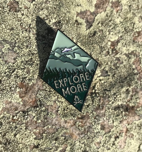 Image of Explore More Enamel Pin