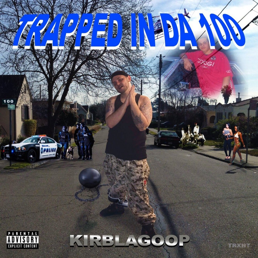 Image of KIRBLAGOOP - TRAPPED IN DA 100 - LIMITED CASSETTE