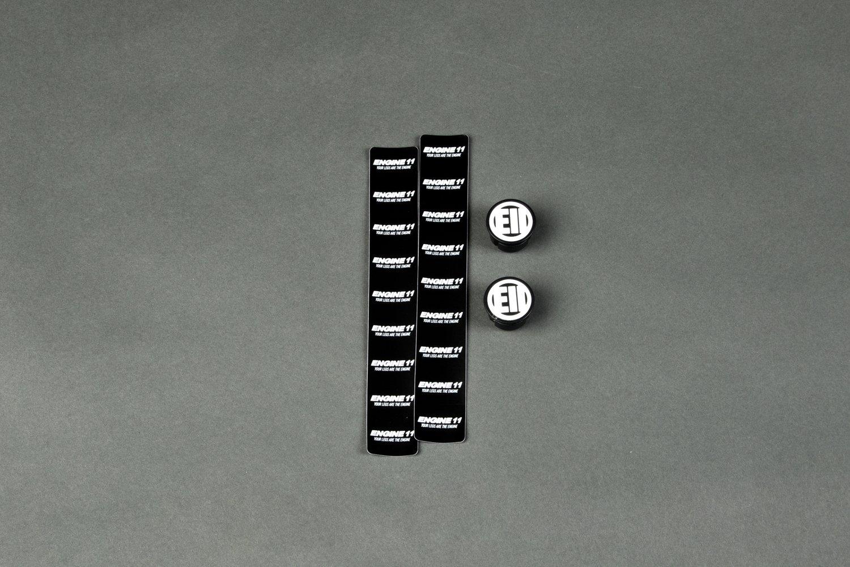Image of NEW ENGINE11 Bartape - Black (Big Logo)