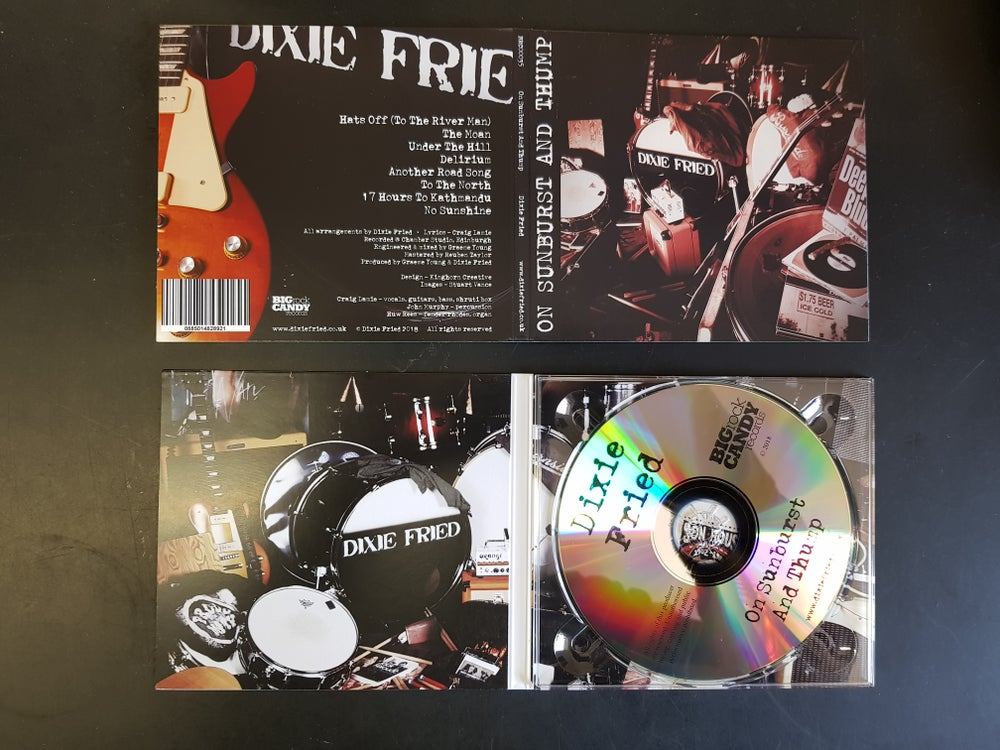 Image of On Sunburst And Thump (CD)