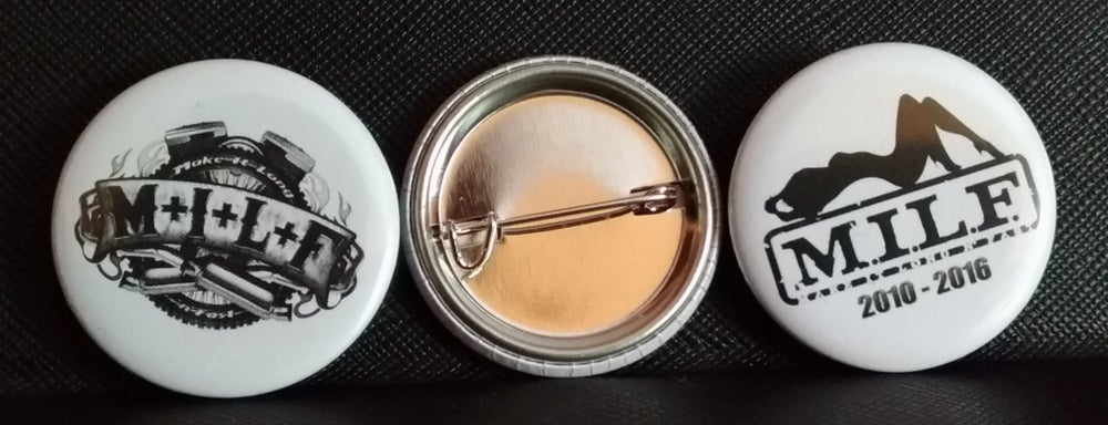 Image of M.I.L.F. decorative Pins