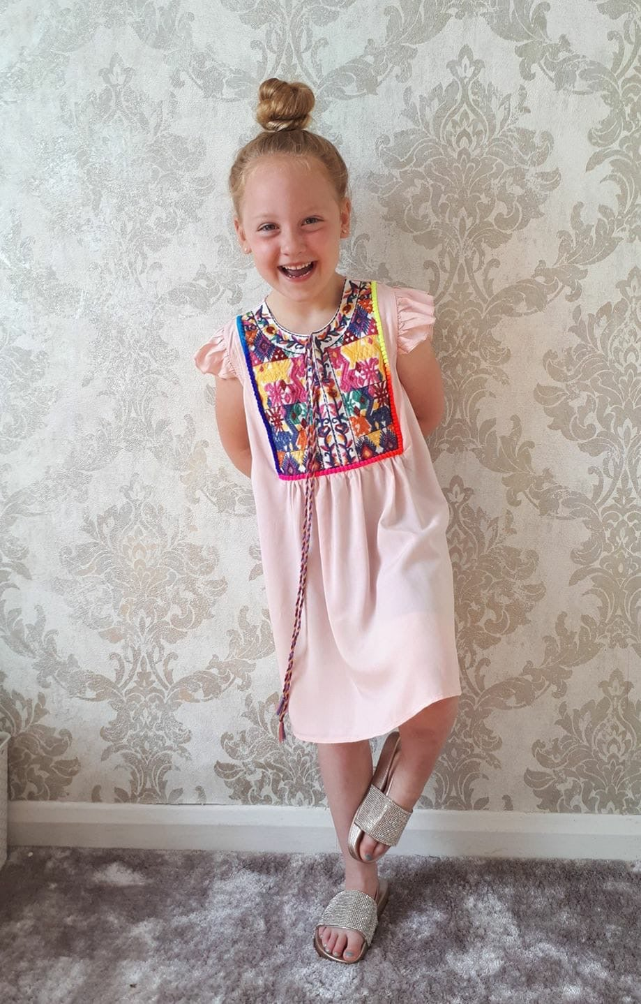 Image of Girls embroidered Tunic