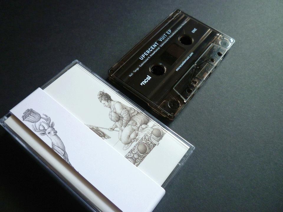 Image of Upercent 'Vuit' EP incl. Chaim Remix Cassette