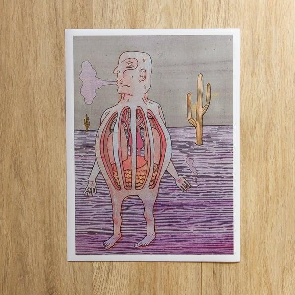 Image of 'Desert Smoker' Giclee Print