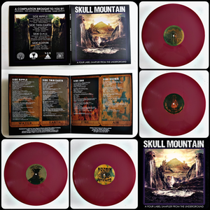 Image of SKULL MOUNTAIN: A FOUR LABEL SAMPLER FROM THE UNDERGROUND
