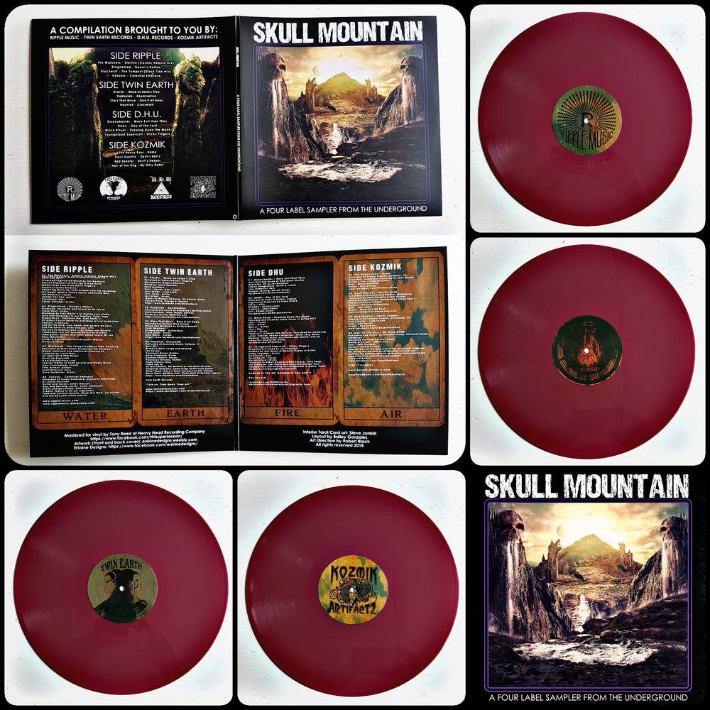 SKULL MOUNTAIN: A FOUR LABEL SAMPLER FROM THE UNDERGROUND