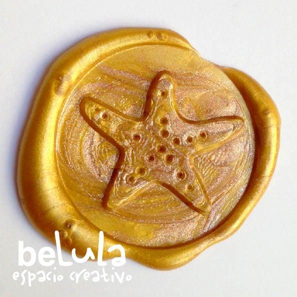 Image of Sello de lacre: estrella de mar