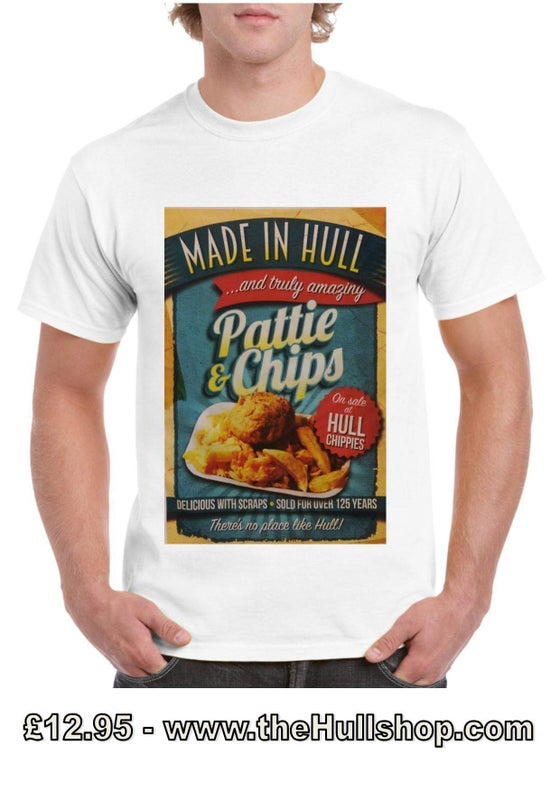 Image of Pattie & Chips Hull T-shirt