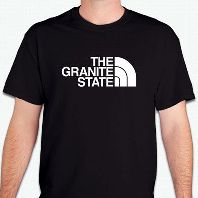 Image of Granite State - Half Dome T-Shirt