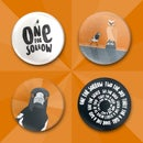 Image of One for Sorrow: Pin Badges and Stickers
