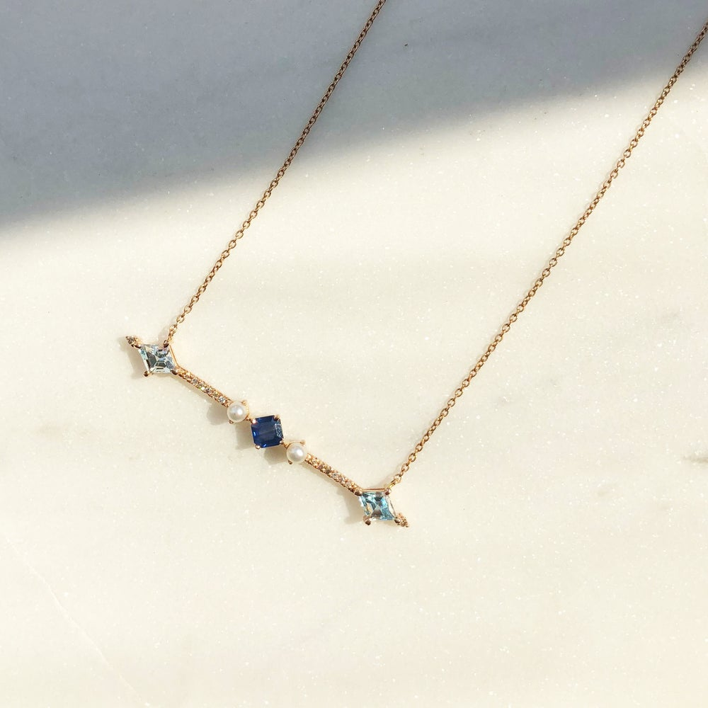 Image of Aurora Bar Necklace