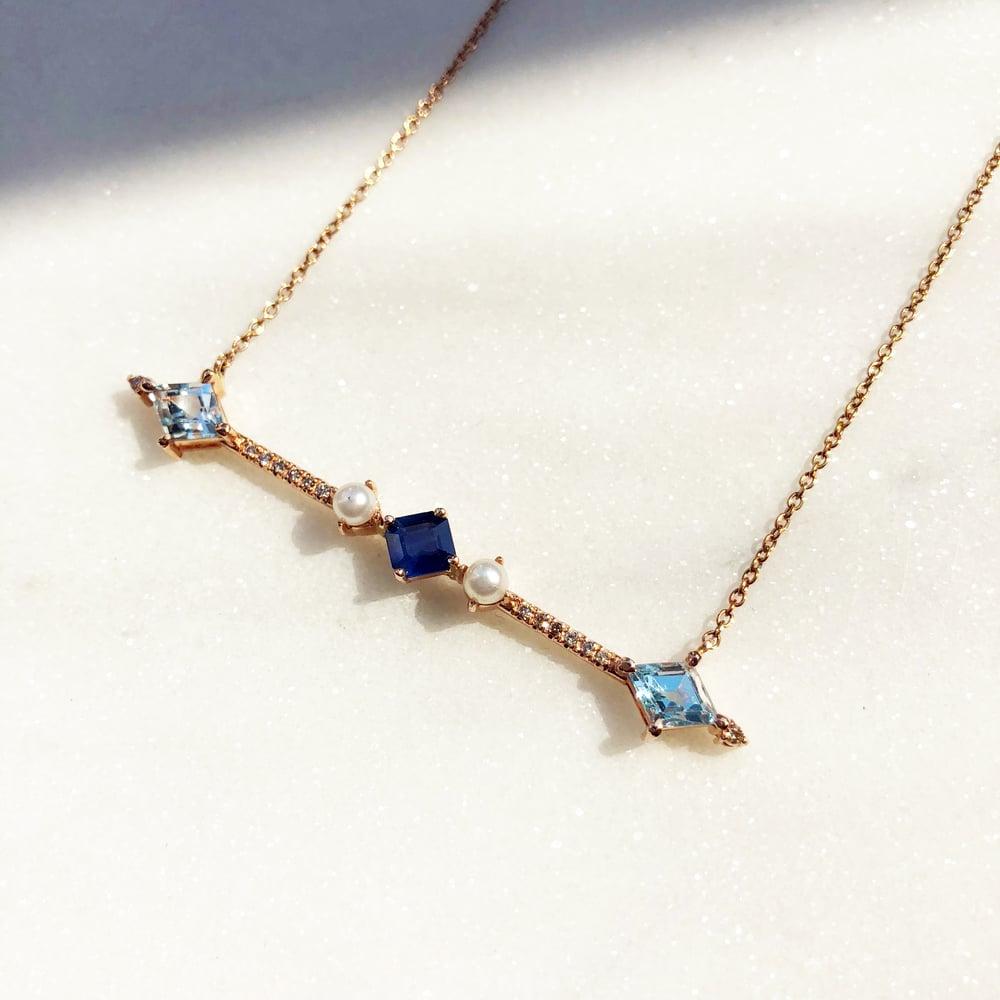Image of Aurora Bar Necklace