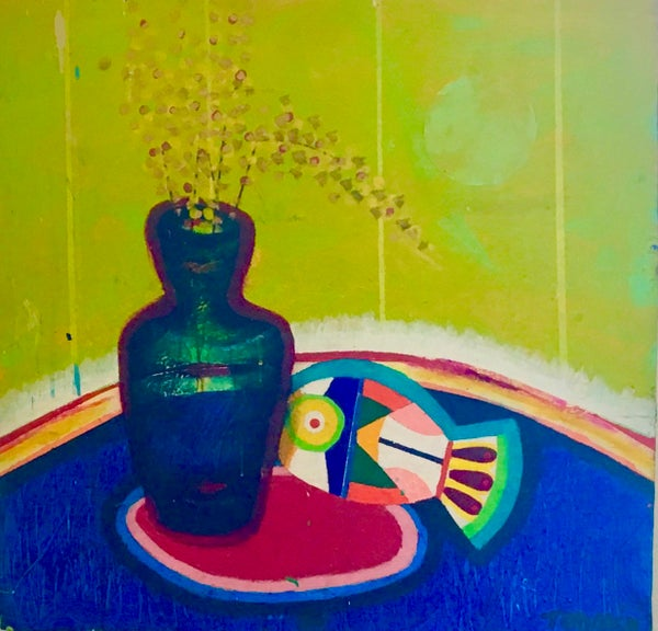 Image of Still Life with Fish and Flowers by Gary Todak
