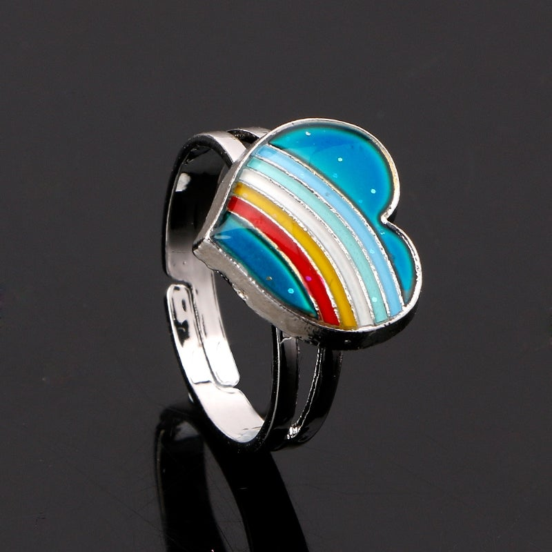 Image of GROOVY RAINBOW MOOD RING
