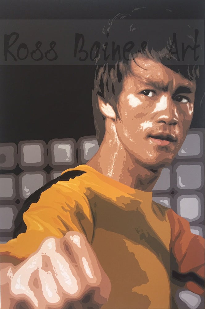Image of GAME OF DEATH (3x2ft canvas print)