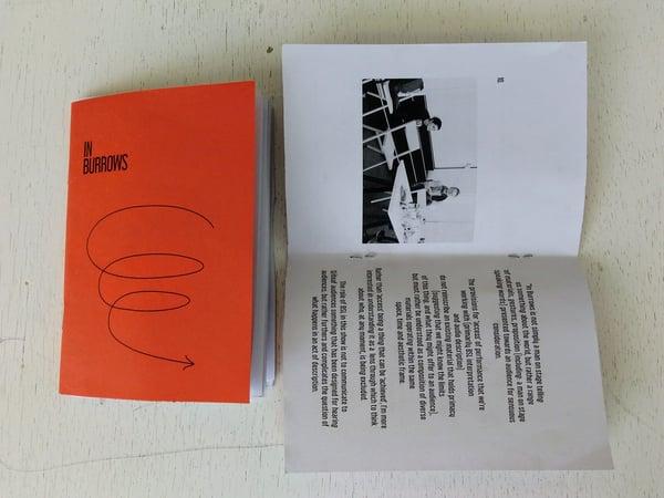 Image of IN BURROWS - Script