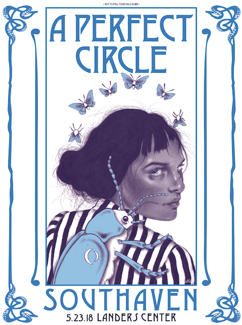 """Image of """"Our Animal Desire""""- A Perfect Circle AP Screenprinted Poster"""