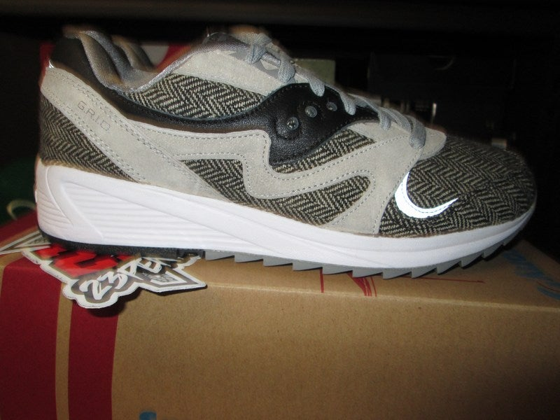 SAUCONY GRID 8000 CL HT TAILORED GREY BLACK S70352 1