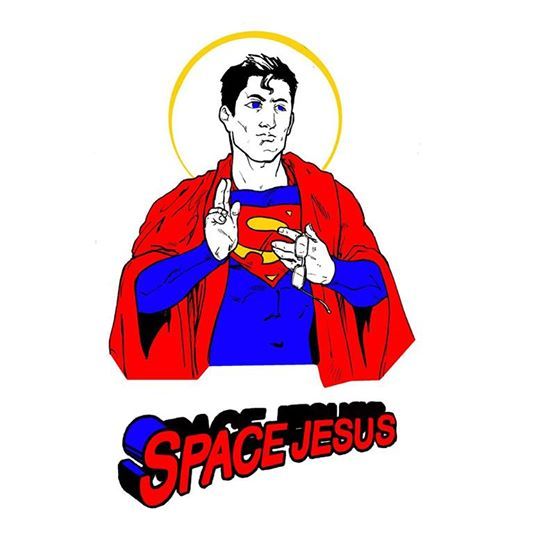 Image of Space Jesus T-Shirt
