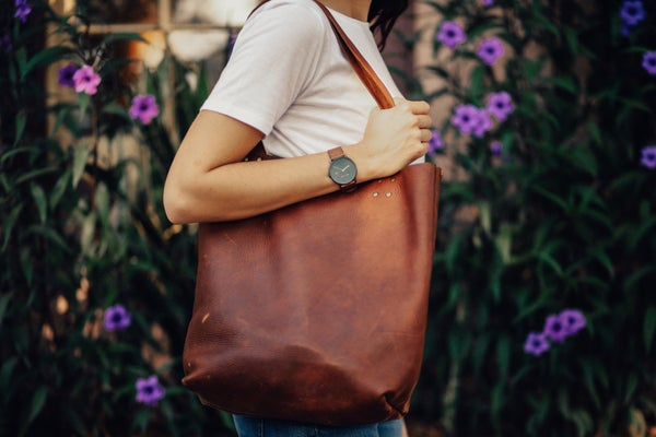 Image of Kodiak Leather Tote