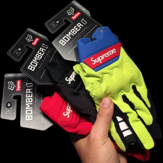 Image of 2018 Fox Bomber LT Gloves