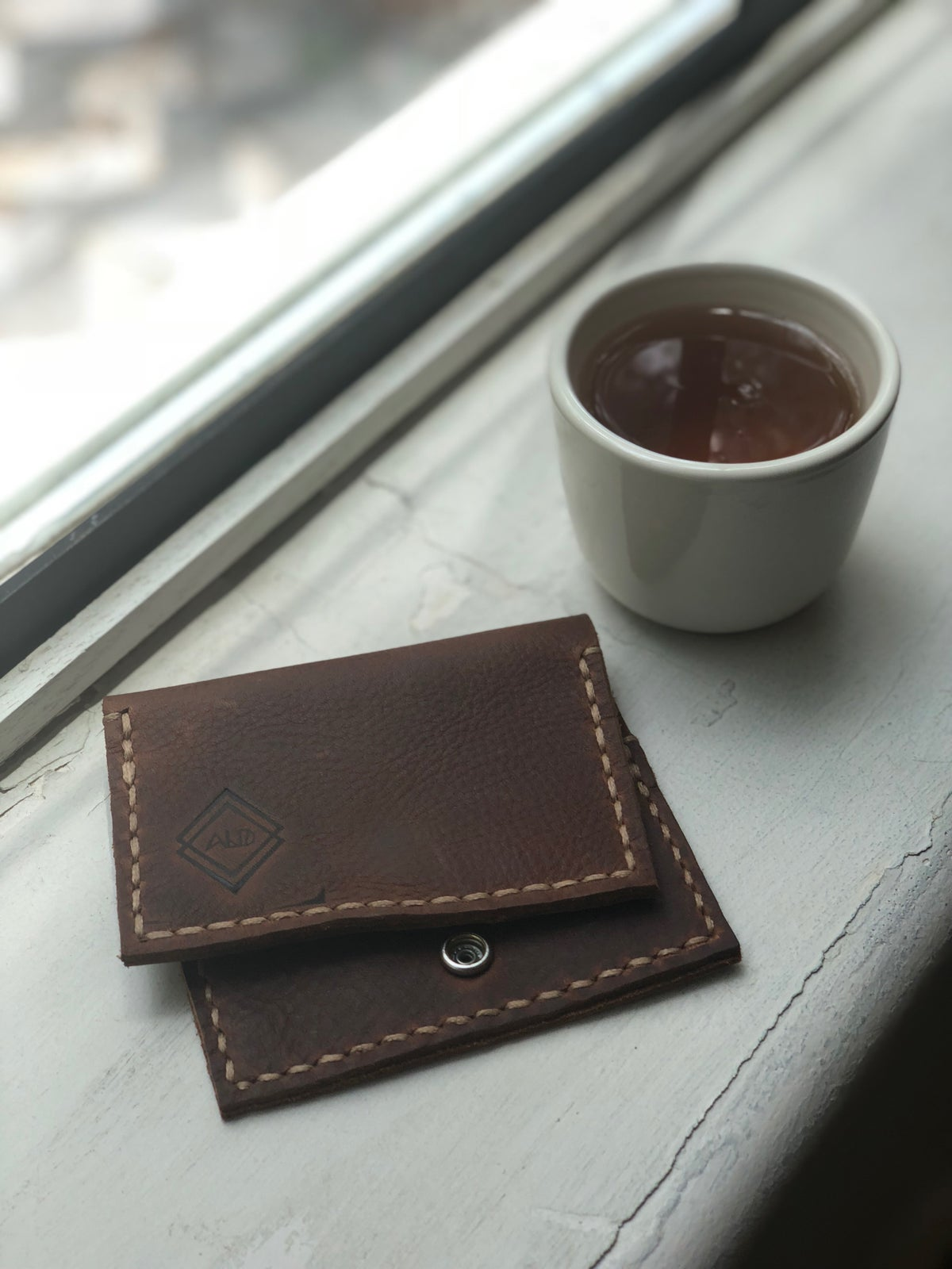 Image of Brown Minimalist Bifold Wallet