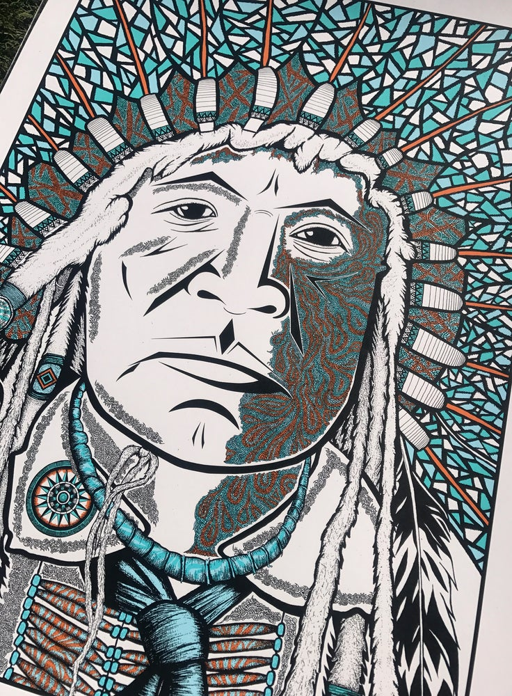 "Image of ""The Chief"" Main Edition of 100"