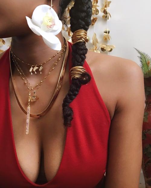 Image of NASTY • Herringbone Snake Chain