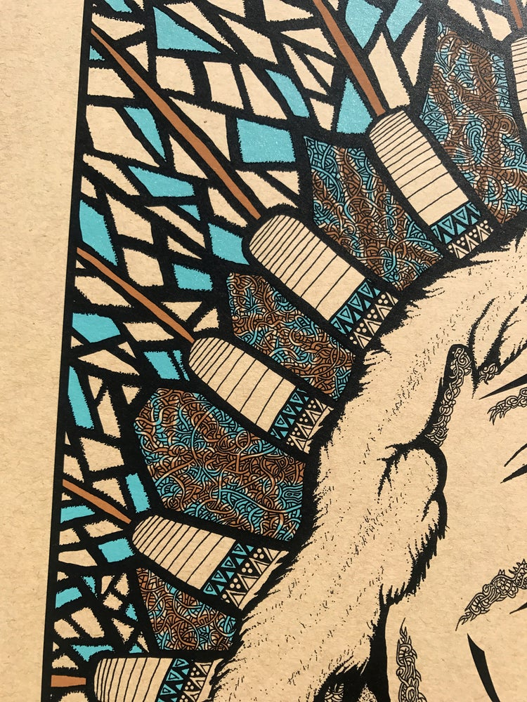 """Image of """"The Chief""""  3-Color Variant of 50"""