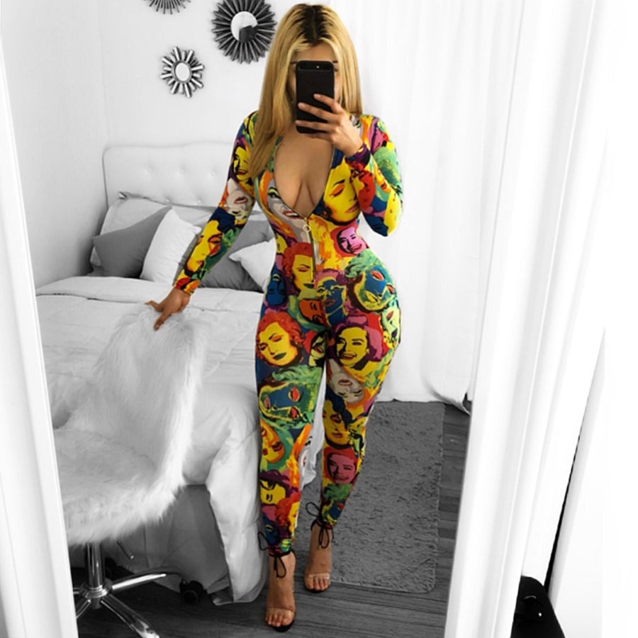 Image of Andrelly multi jumpsuit