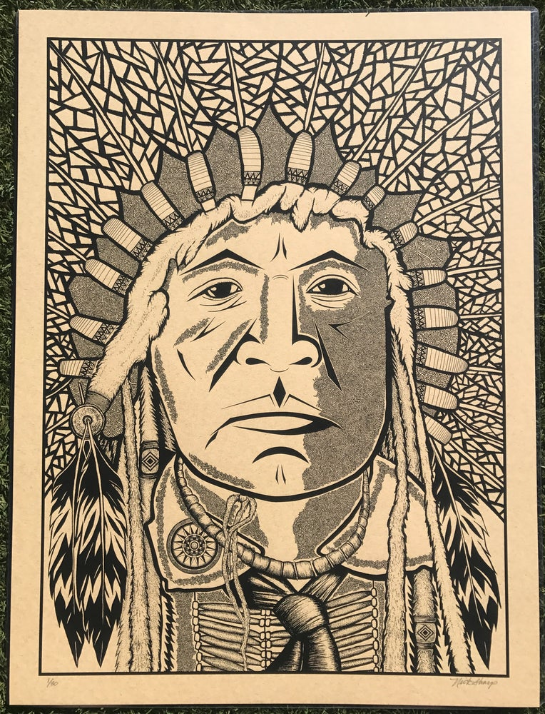 "Image of ""The Chief"" Tobacco Edition of 30"