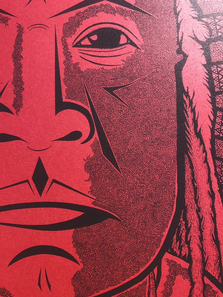 """Image of """"The Chief"""" Red Edition of 15"""