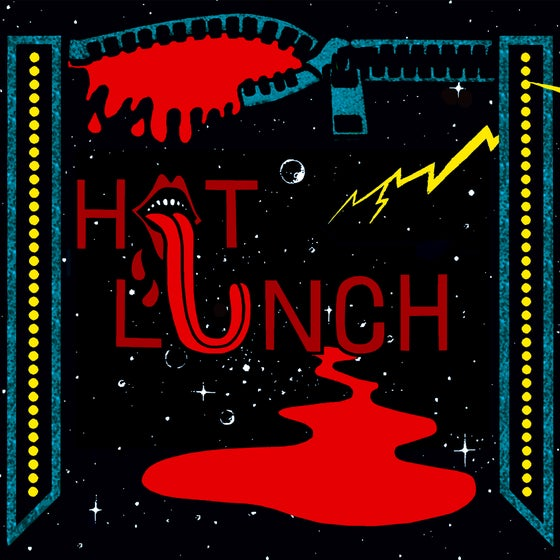 "Image of HOT LUNCH - 'Haul Of Meat' 7"" Vinyl **PRE-ORDER**"
