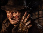 "Image of ""Freddy"" Canvas Giclee 11x14"""