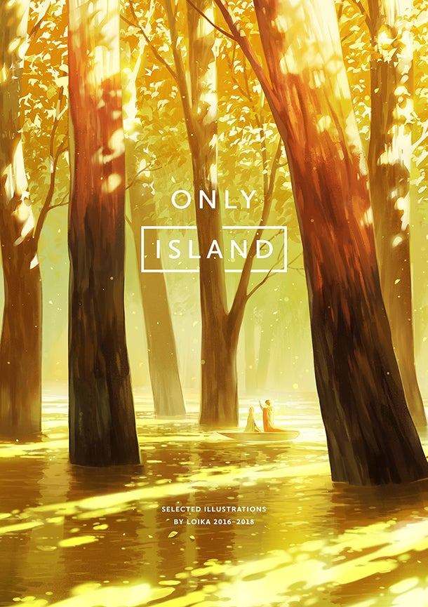 Image of (PREORDER) ONLY ISLAND ARTBOOK