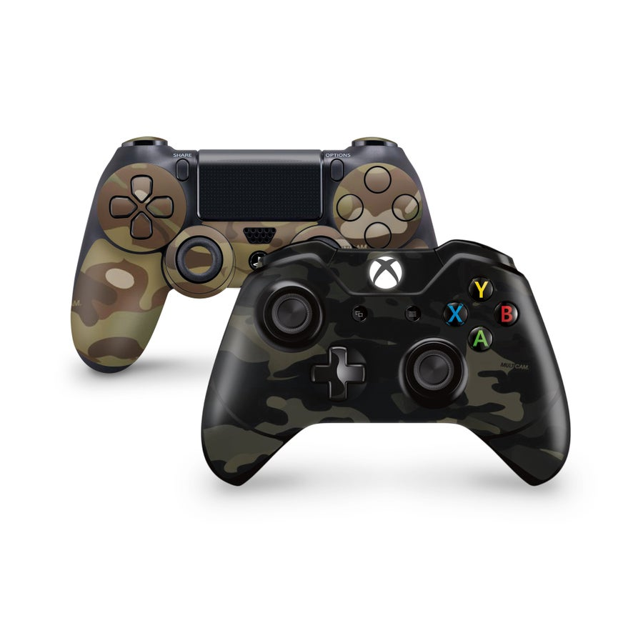 Image of Xbox One & PS4 Controller Multicam Skins