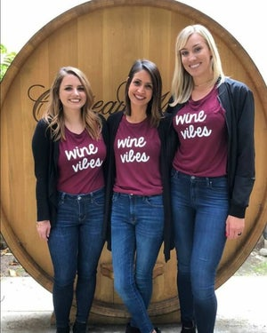Image of Wine Vibes festival tank