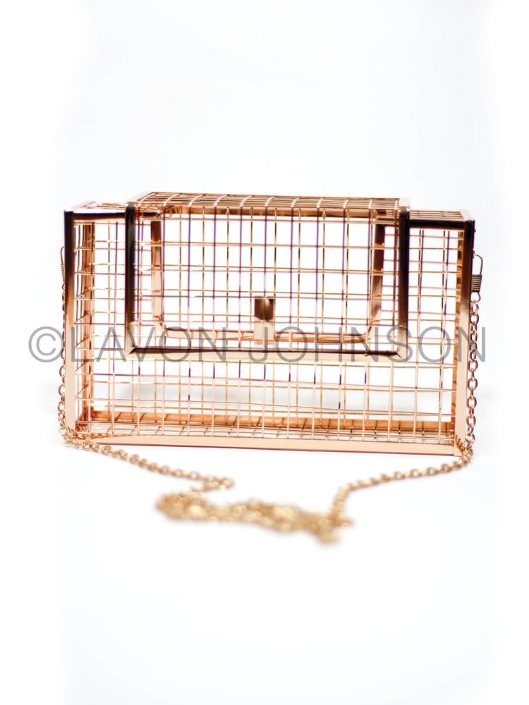 Image of Harlow Square Cage Purse