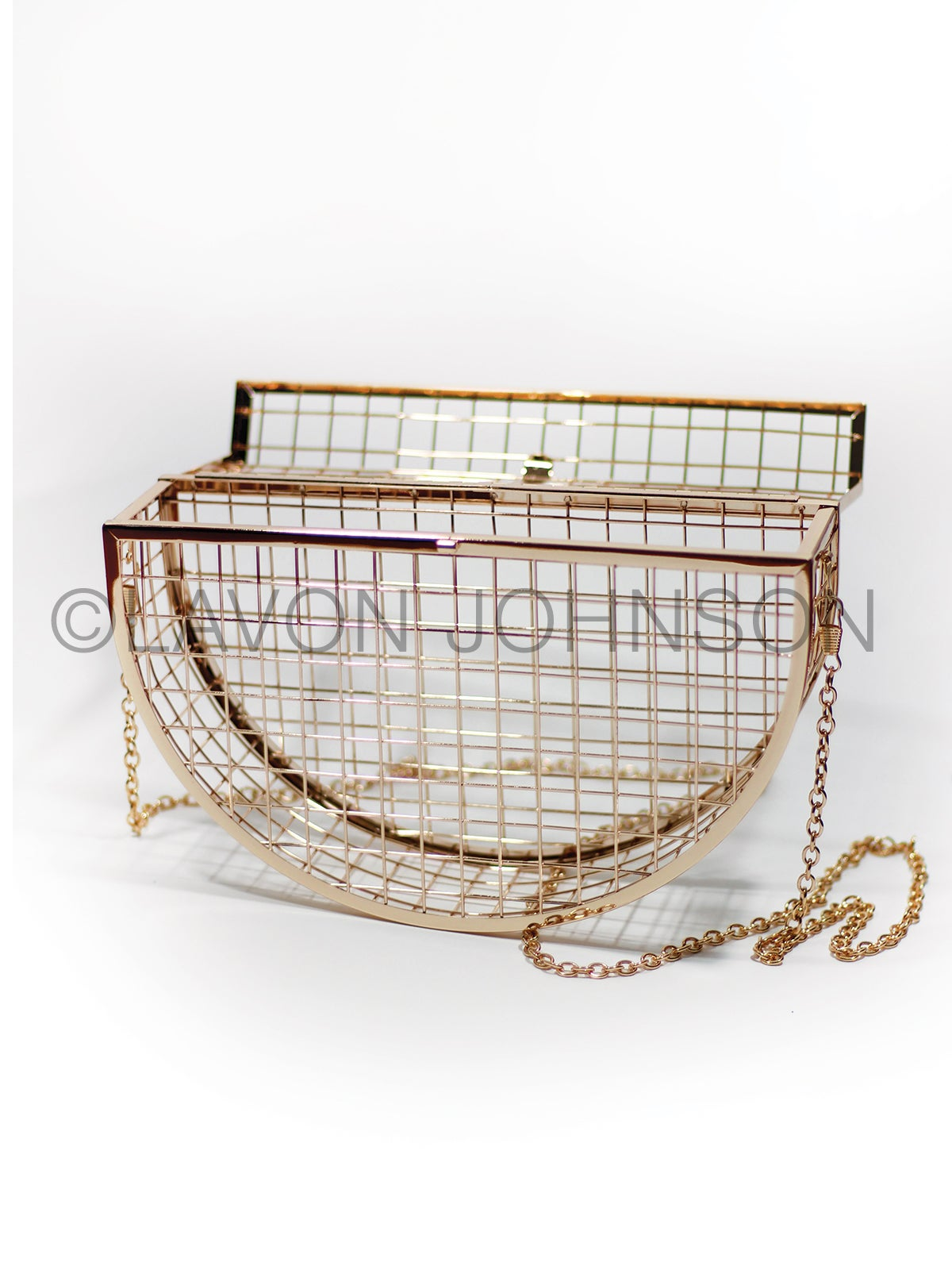 Image of Harlow Caged Purse
