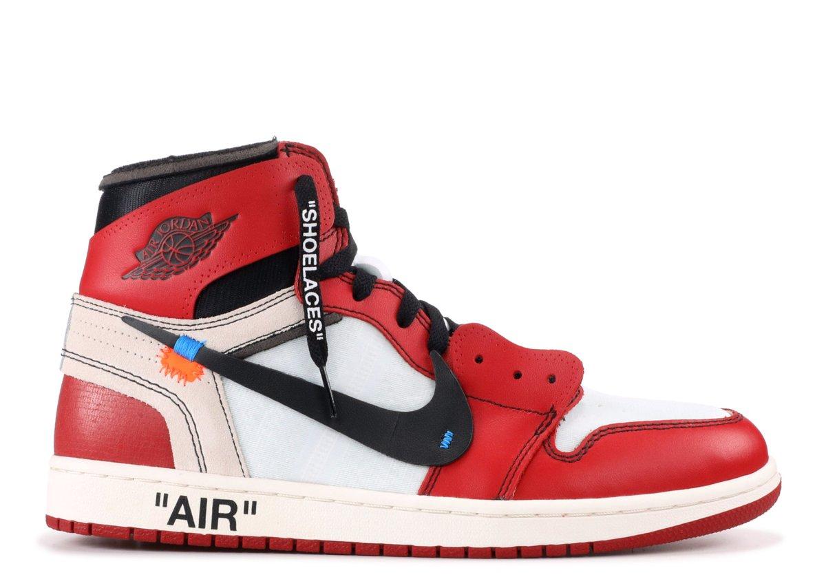 Image of Jordan 1 x Off White Chicago