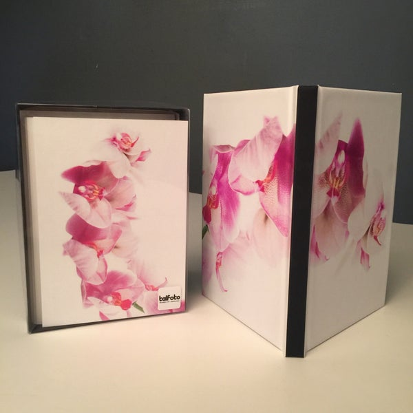 Image of Orchid Box Gift Set & Notebook