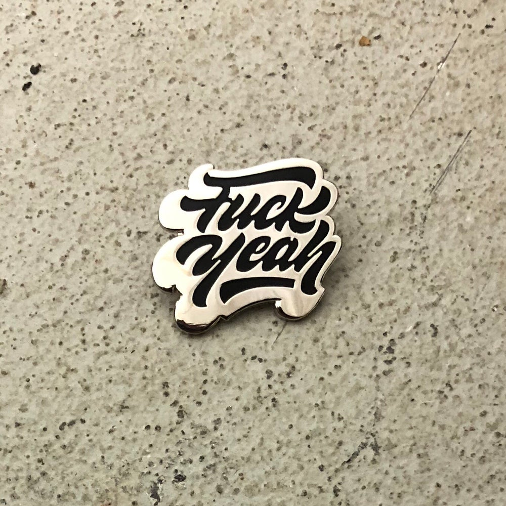 Image of F Yeah (silver/black)