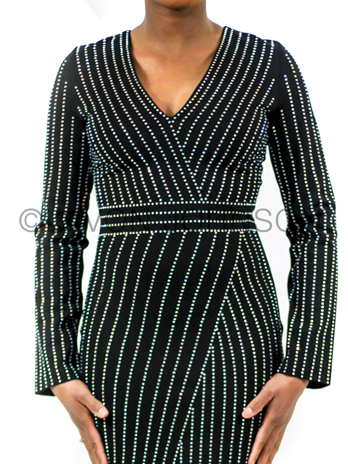 Image of Studded Rhinestone Dress/Top