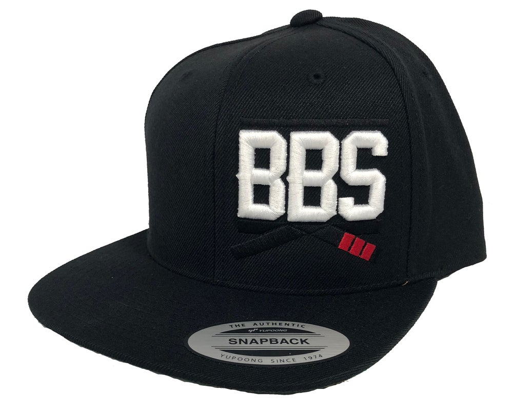 Image of Classic BBS Snapback - Black