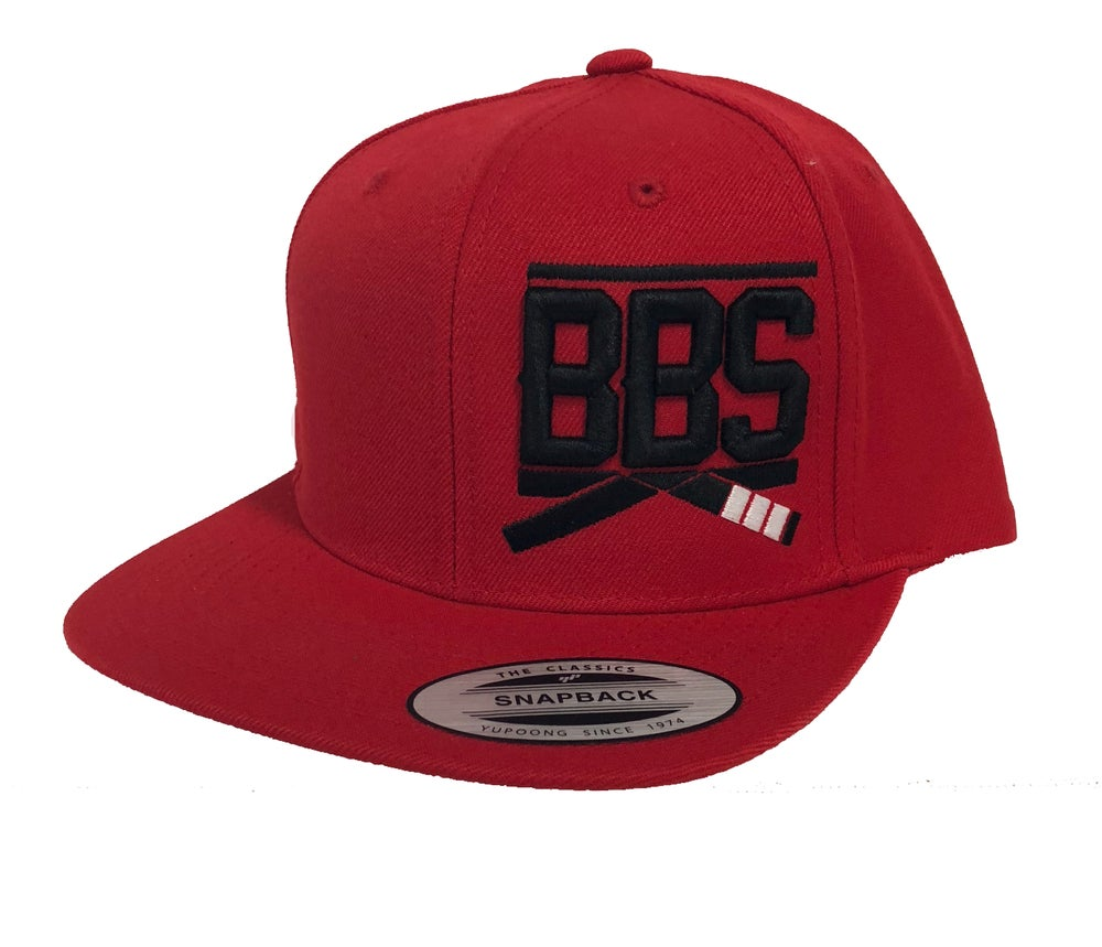 Image of Classic BBS Snapback - Red
